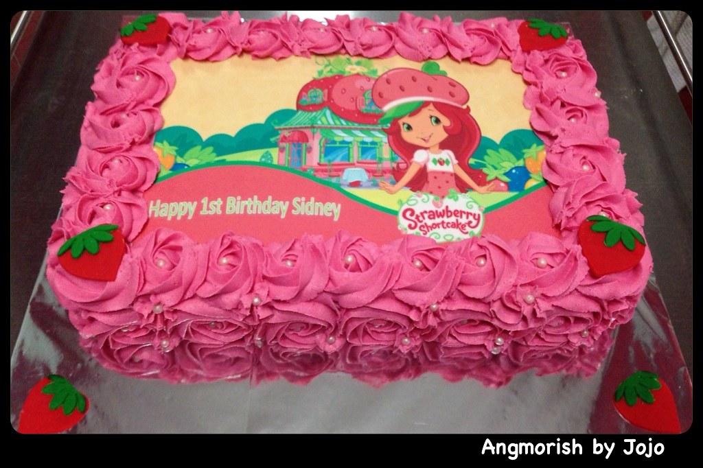 Strawberry Shortcake Birthday Cake Singapore Cake Recipe