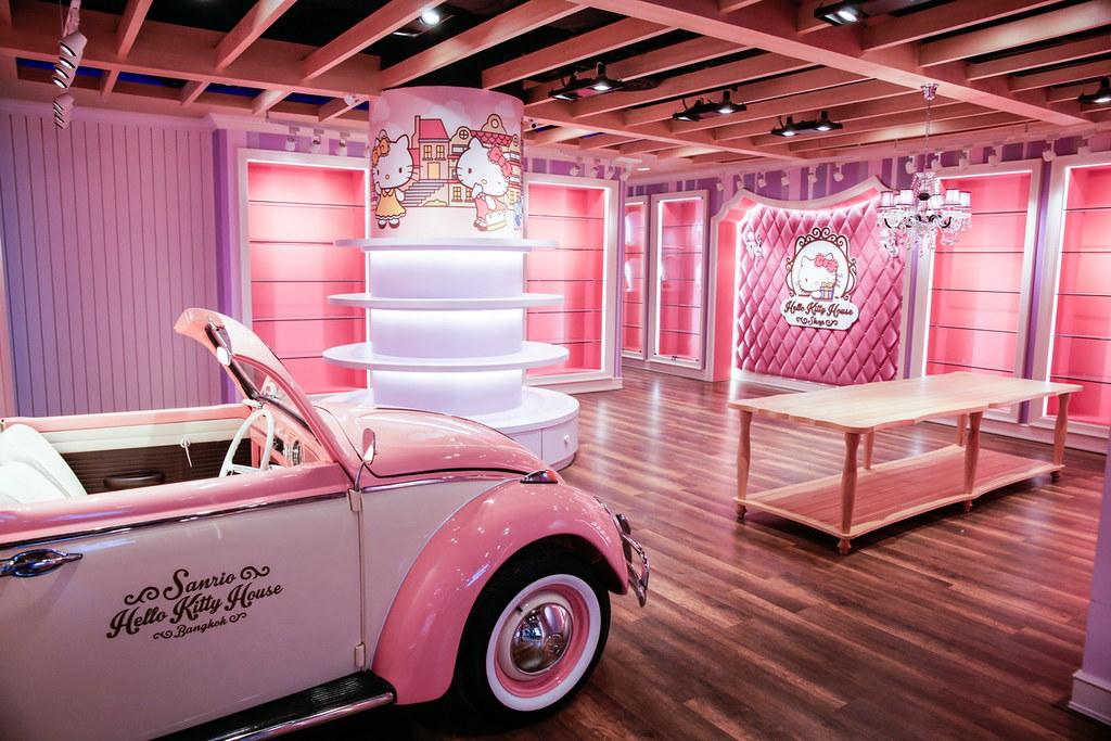 Sanrio Hello Kitty House Bangkok Sony A900 Bangkok Jul Flickr
