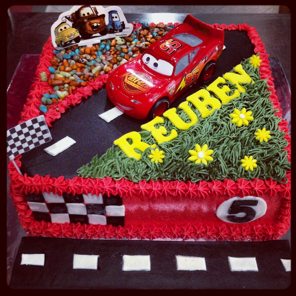 disney cars cake reuben angmorish by jojo flickr