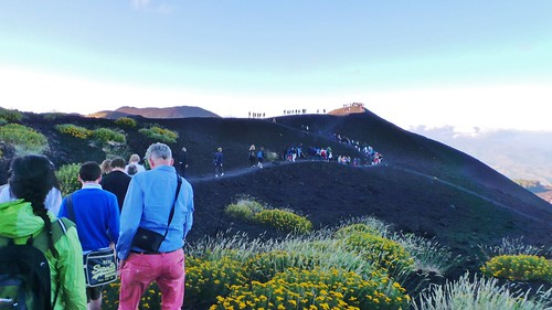 Sicily - Mt Etna - Aug 2014 - Volcano Visitors | by Gareth1953 All Right Now