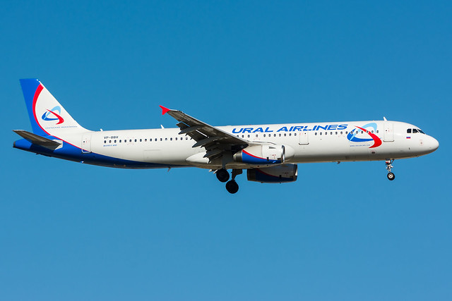 VP-BBH - Ural AIrlines - Airbus A321-231