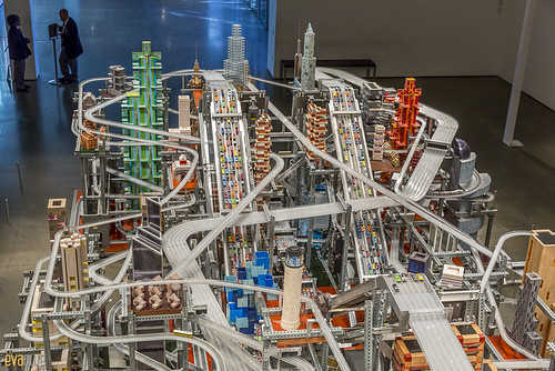 Chris Burden, Metropolis II LACMA Los Angeles 03 | by Eva Blue