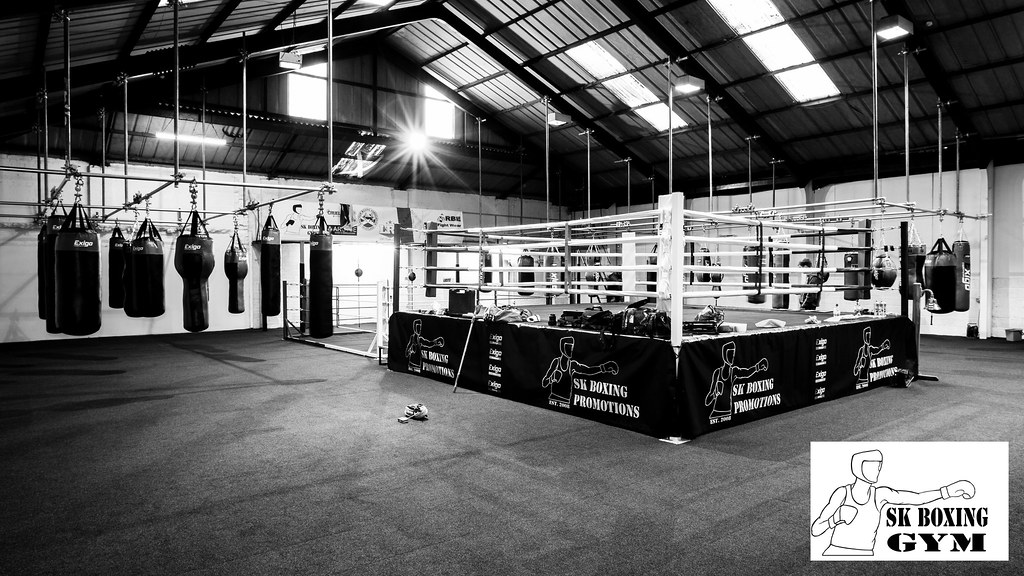 Boxing Studio In White Room