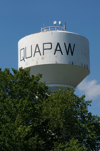 Water Tower - Quapaw, Oklahoma | by RoadTripMemories