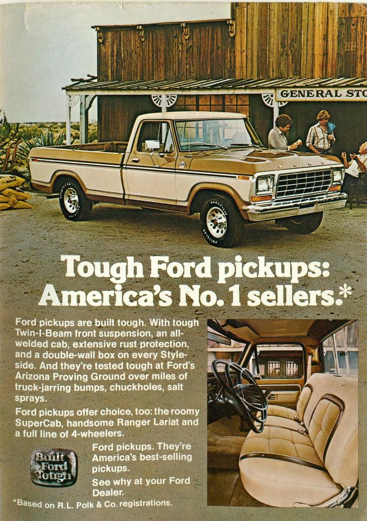 1979 Ford F-100 Ranger Lariat Pickup Truck | coconv | Flickr