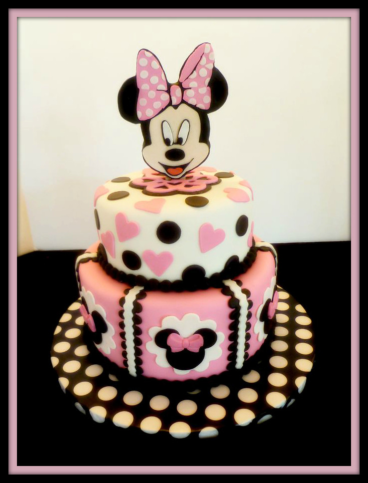 Minnie Mouse Cake By Yvonne Twin Cities Mn Birthday Flickr