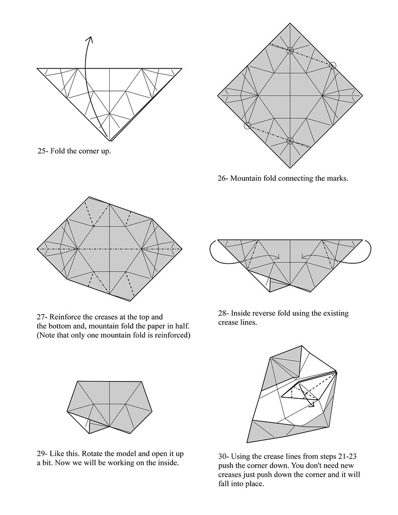 Origami Burr Puzzle Page 5 Para Yadira Well Here It Is G Flickr