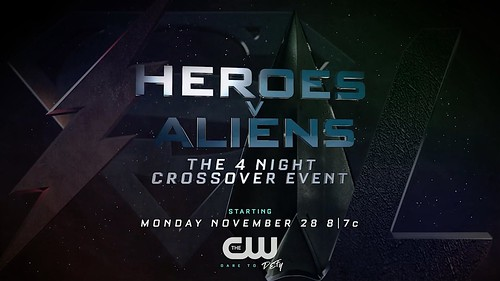 Heroes v Alien The CW