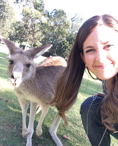 We made it! Kangaroo selfie! #quiltabout @holly_inez @dimill | by croskelley
