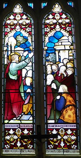 St. Paul preaching at Athens, St Mary's Church, Shephall | by Peter O'Connor aka anemoneprojectors
