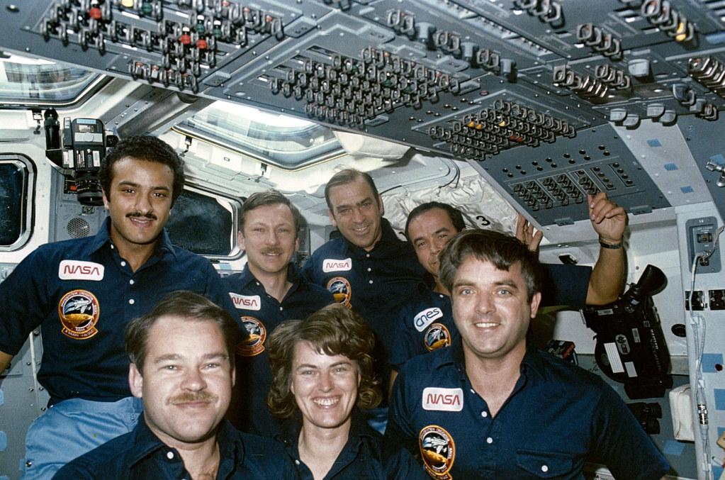 51G-21-011 STS 51-G in-flight ...