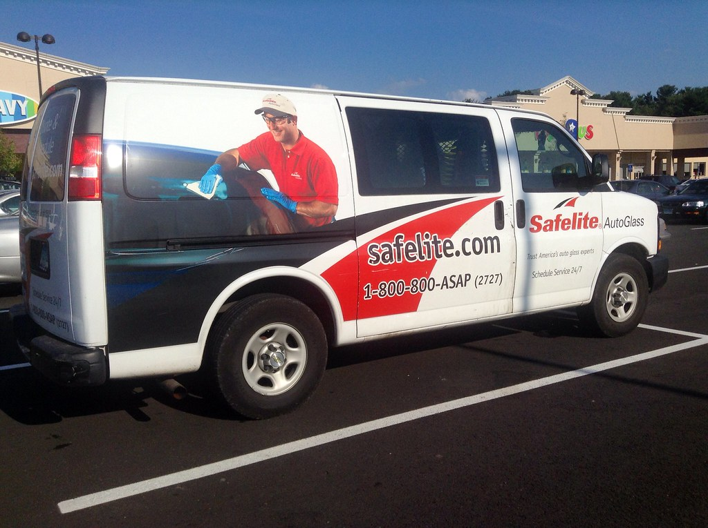 ... Safelite Auto Glass Truck, 8/2014 By Mike Mozart Of TheToyChannel And  JeepersMedia On