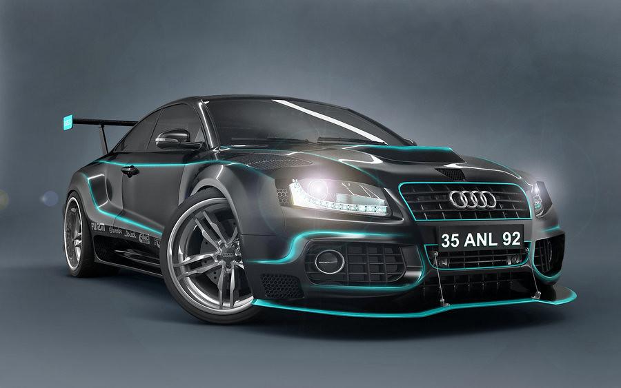 Audi Car Design 3d Wallpaper 3d Audi Car Wallpapers 3 Flickr
