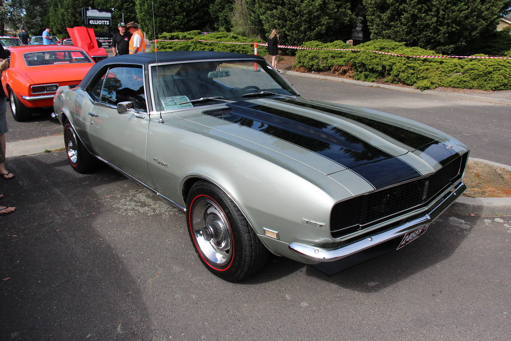 1968 CHEVROLET CAMARO SS 327 COUPE - 24469