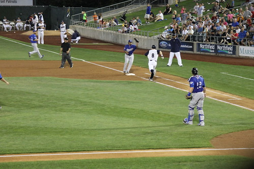 Somerset Patriots 3, Sugar Land Skeeters 1 (Bridgewater Township (Somerset County), New Jersey - Saturday August 9, 2014)