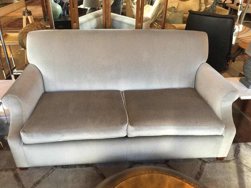 ... 72 X 36 Stunning Grey Mohair Sleeper Sofa  PLANTATION $1495 | By  WeloveLeftovers*