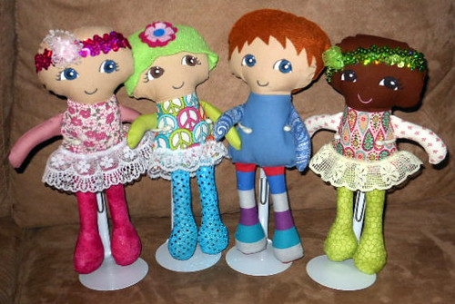 Fran's amazing Cuties for a cure chemo dolls | by Dolls And Daydreams