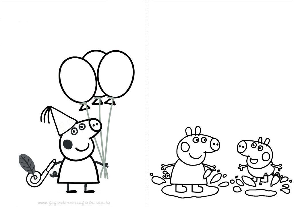 ... capa Desenhos do Peppa Pig para colorir pintar imprimir, desenhos peppa  pig, pintar,