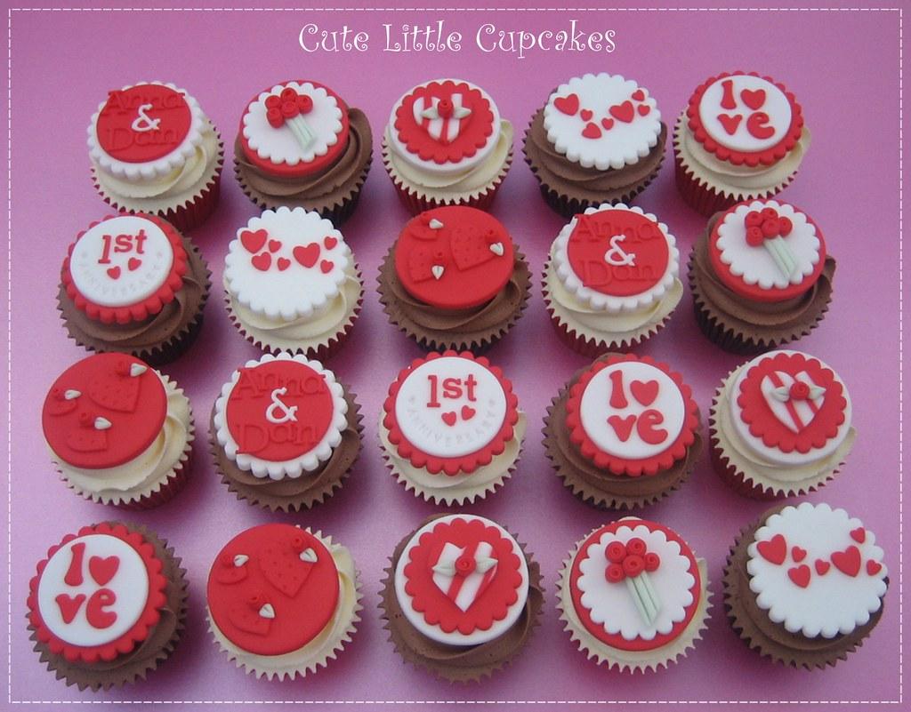St anniversary cupcakes heidi stone flickr