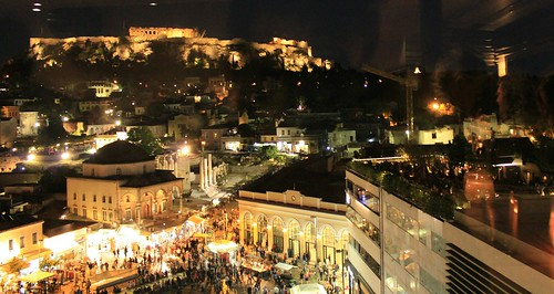 Monastiraki Athens from above | by Thanasis Bel