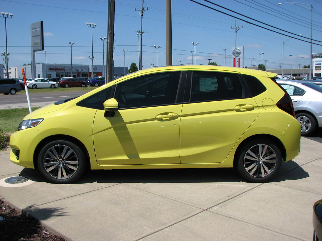 ... 2015 Honda Fit--Mystic Yellow Pearl | by AmyWoodward
