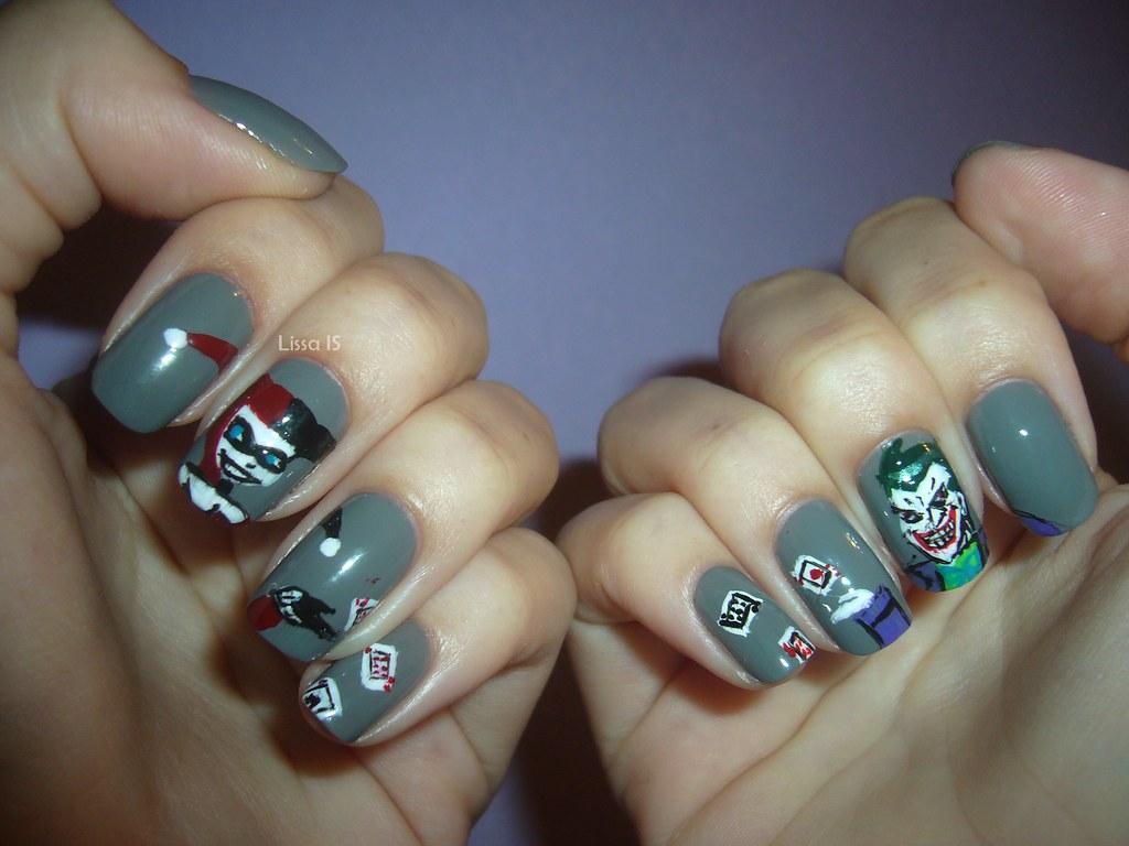 Harley Quinn x Joker | Personagens feitos com pincel, direta… | Flickr