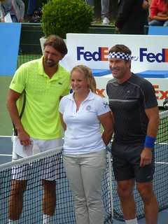 Goran Ivanisevic and Pat Cash | by tennis buzz