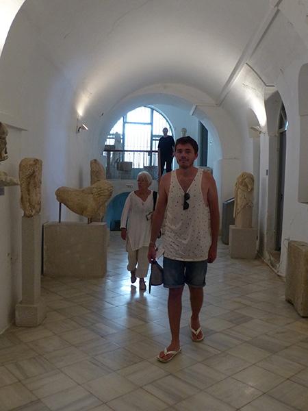 balade dans le musée archéologique