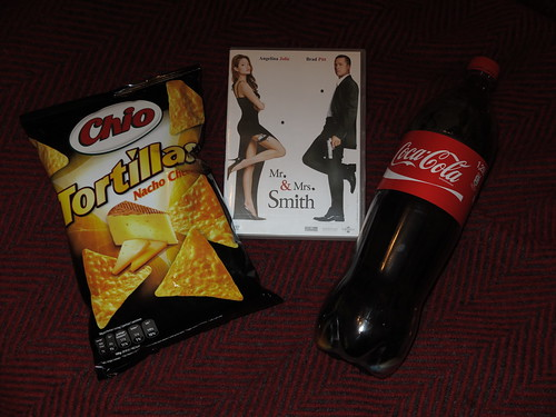 "Tortilla Nacho Cheese und Coca Cola zum Film ""Mr. & Mrs. Smith"""