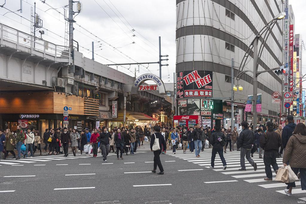 lavlilacs Japan Tokyo Ueno Ameyayokocho
