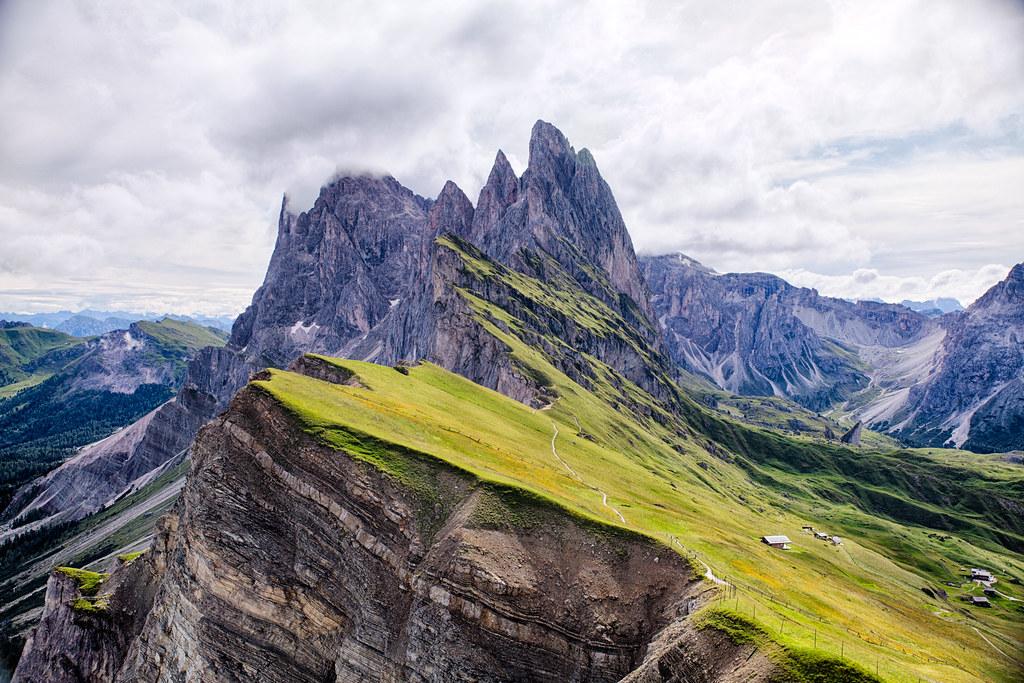 Dolomites - The Geisler / Odle Group