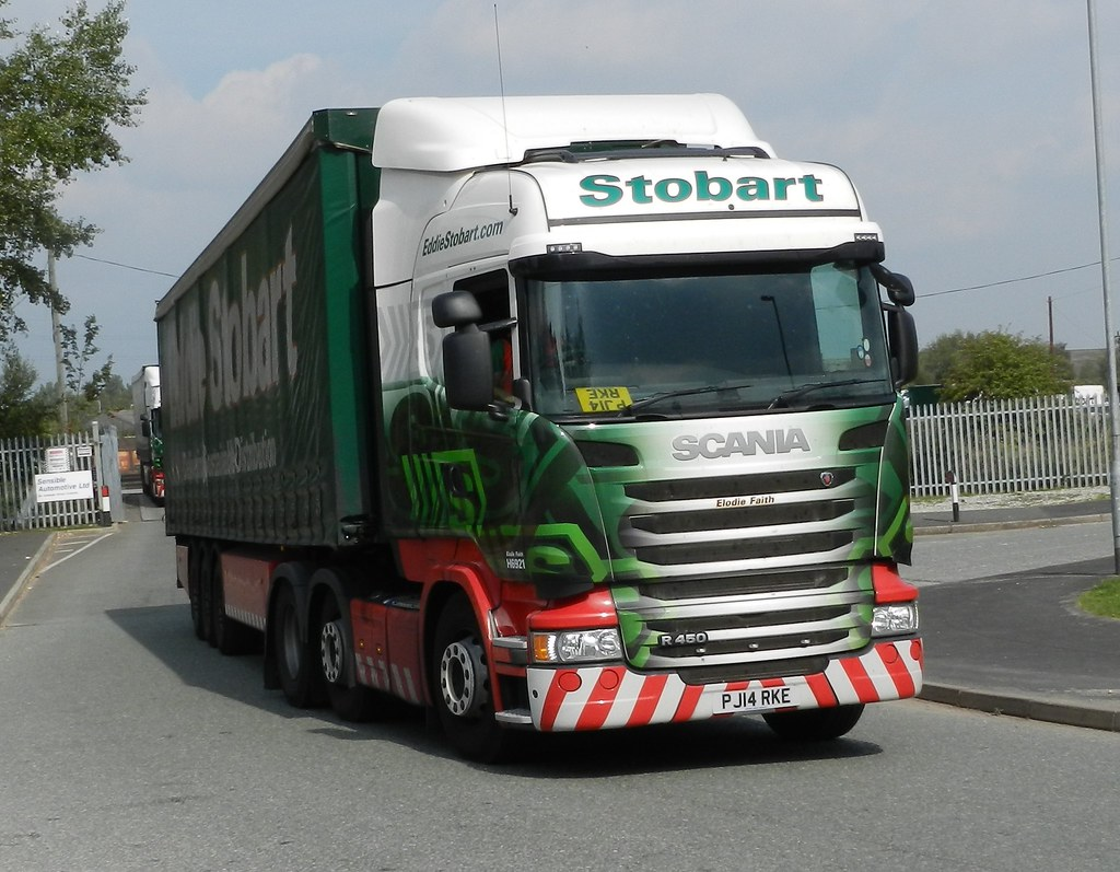 PJ14RKE H6921 Ed Stobart Scania 'Elo Faith' | Foundry ...