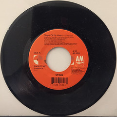 STING:SHAPE OF MY HEART(RECORD SIDE-A)