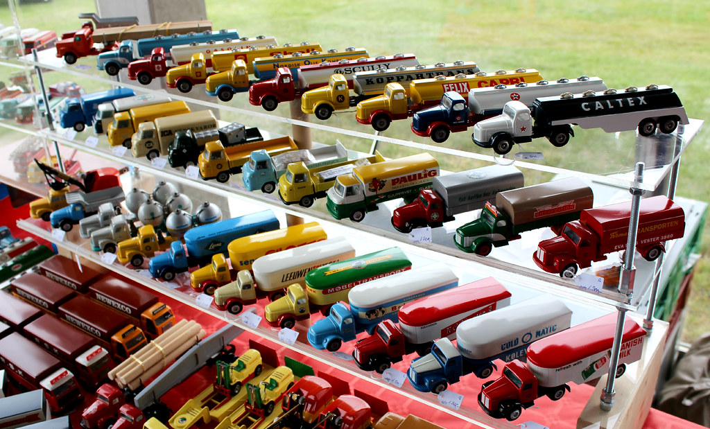 Tekno model cars for sale at the Meeting of veteran trucks… | Flickr