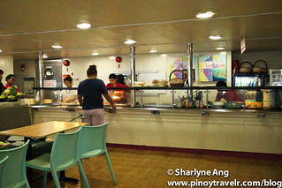 Cafeteria at MV St. Ignatius - 2GO (Odiongan - Caticlan Route) | by rockerfem