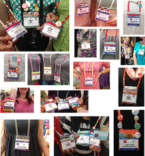 ID / Badge Holders in the wild (Quilt Market, Pittsburgh 2014) | by Happy Zombie