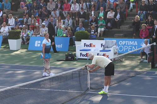 Kim Clijsters and John McEnroe | by tennis buzz