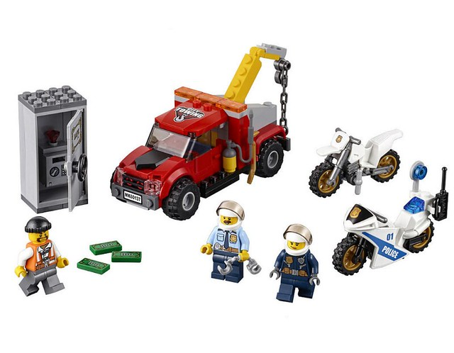 LEGO City 60137 - Tow Truck Trouble