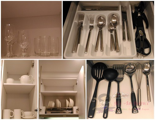 ascott makati kitchen