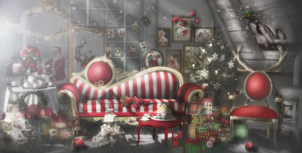 a christmas attic by jojo deed - Christmas Attic