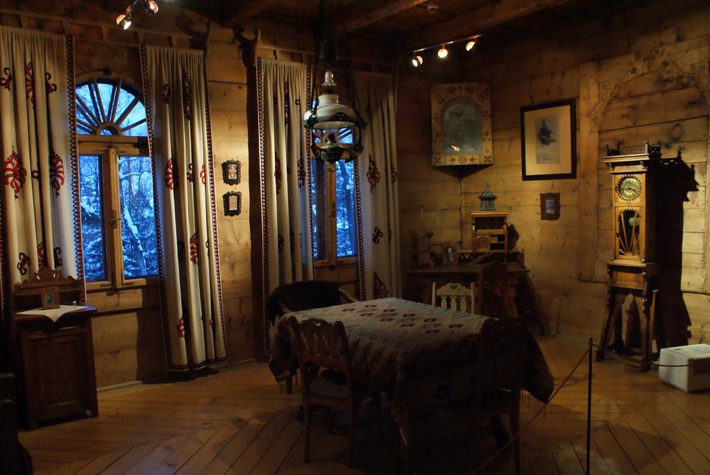 Chambre dans le musée Koliba à Zakopane.