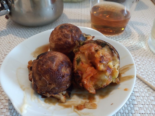 Tako-less takoyaki
