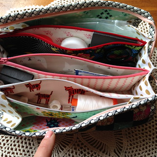 Finished Sew Together Bag! | by juliezryan