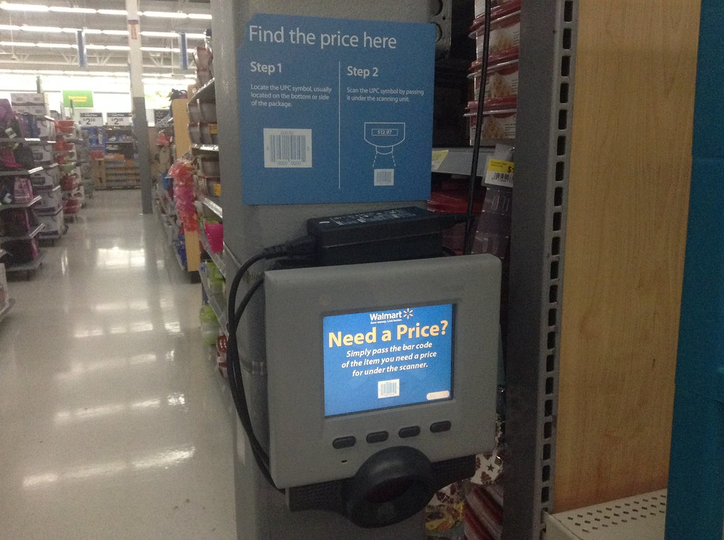 Walmart Price Checker Scanners 72014 By Mike Mozart Of T Flickr