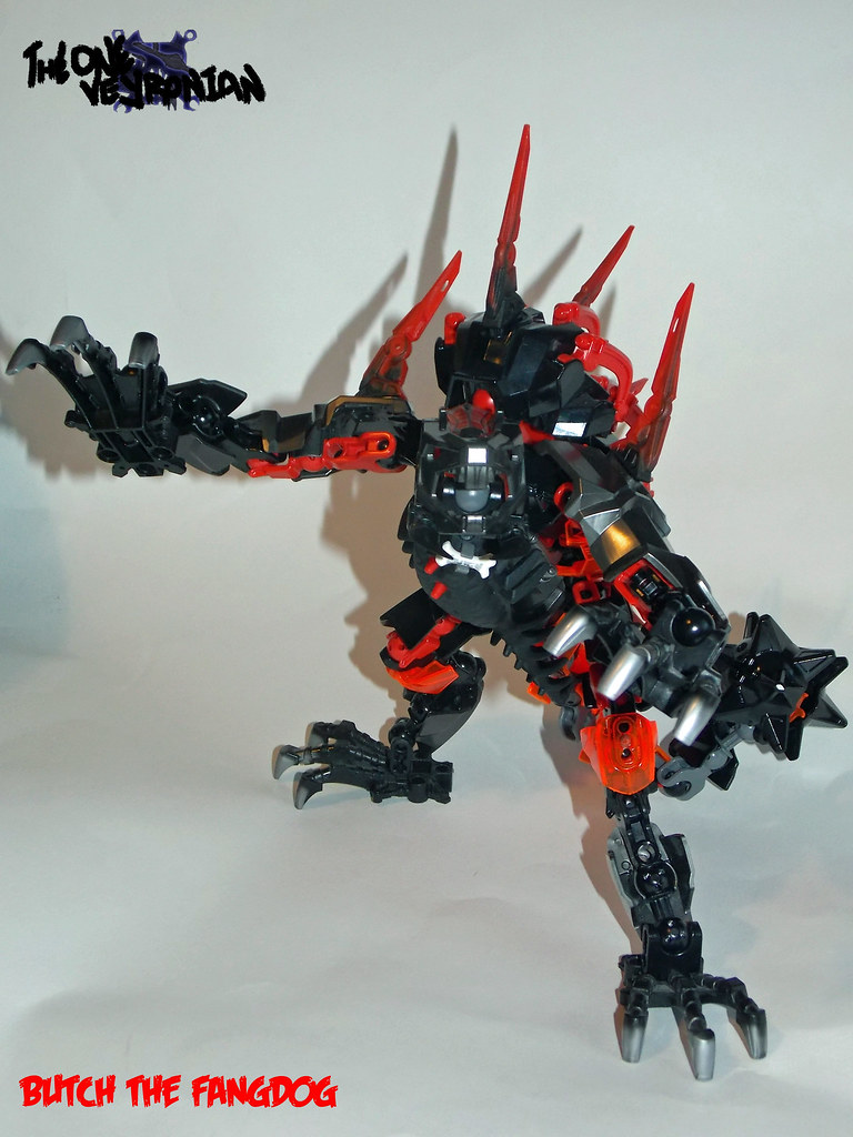 ... LEGO Hero Factory MOC - Butch the FangDog (mod of 2233 Fangz) 2 |