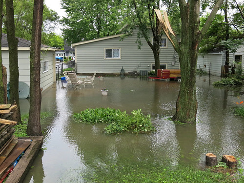Flooding in Midlothian, IL, July 12, 2014 | by Center for Neighborhood Technology