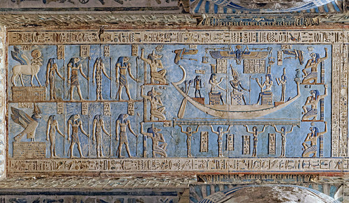 Dendera Temple Astronomical Ceiling At The Pronaos Flickr
