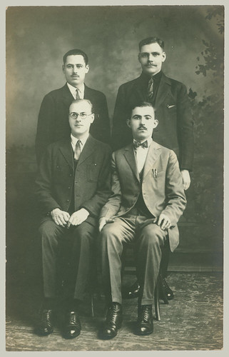 Four men