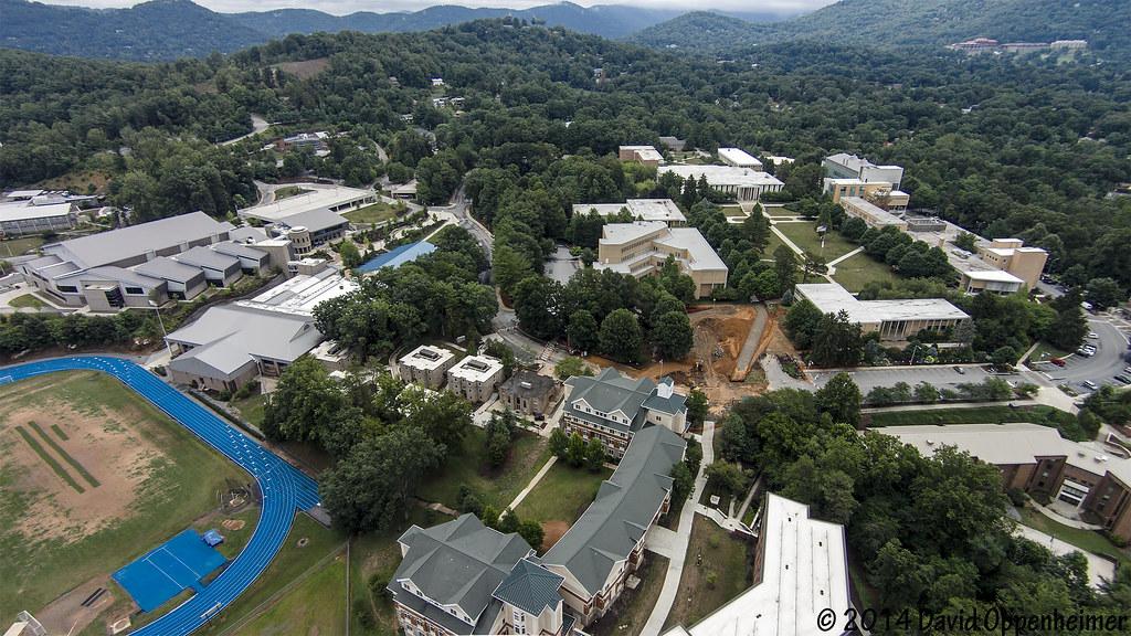 UNC Asheville   UNCA Aerial Photo   UNC Asheville campus   U…   Flickr