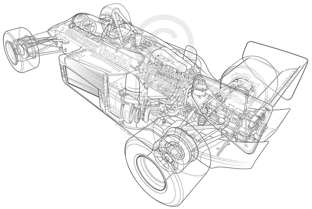 1986 Lotus Renault F1 Web